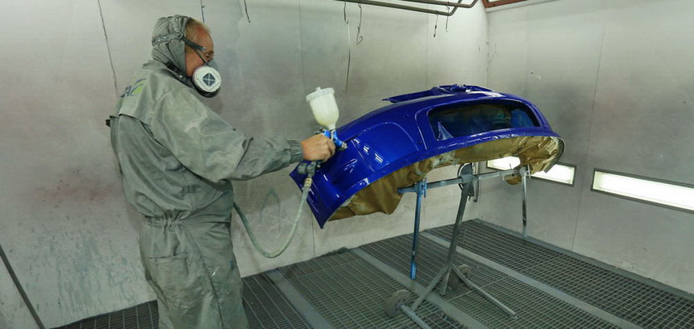 Melvyn Evans Motorsport - Bodyshop Services