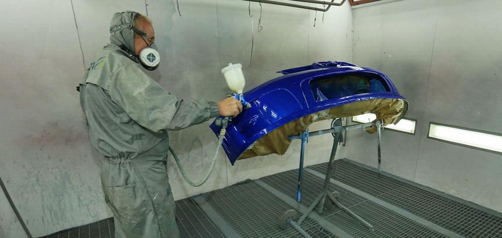 Melvyn Evans Motorsport - Bodyshop Services