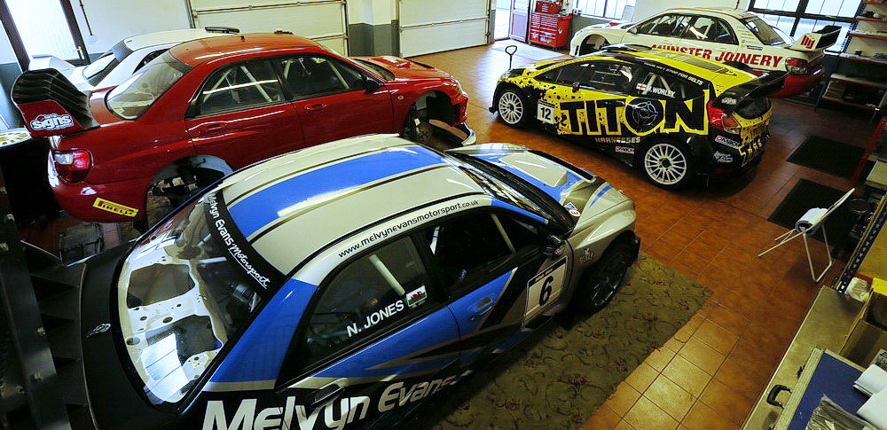 Melvyn Evans Motorsport - Rally Car Preparation