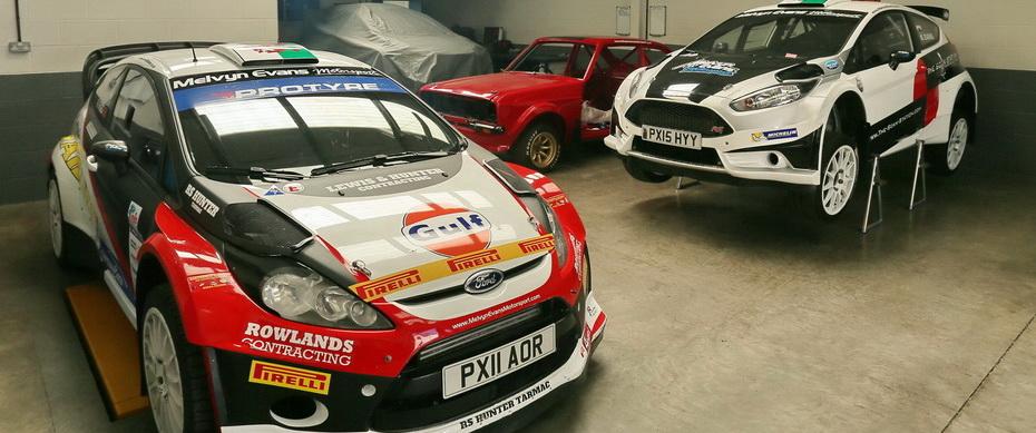 Slide #4 - Melvyn Evans Motorsport - Rally Car Hire